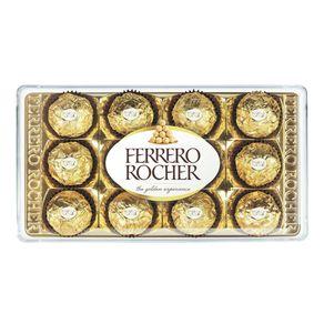 Bombom Ferrero Rocher 150g Com 12 Bombons