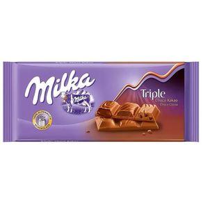 Barra-de-Chocolate-Milka-Triple-Chocolate-90g